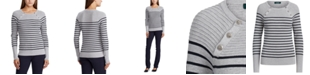 Lauren Ralph Lauren Stretch-Cotton Sweater
