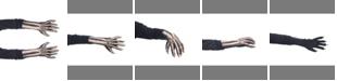 Zagone Studios ZagOne Size Studios Dress Up Costume Adult Skeleton Gloves One Size