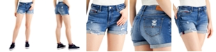 Tommy Jeans Ripped Denim Shorts