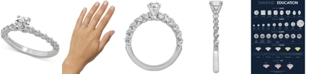Bliss Monique Lhuillier Bliss Monique Luhillier Diamond Engagement Ring (1 ct. t.w.) in 14k White Gold