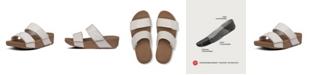 FitFlop Women's Mina Leather Slides Sandal