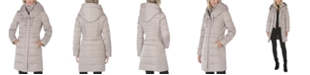 Tahari Hooded Puffer Coat