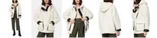 Marc New York Saros Hooded Fleece Teddy Coat