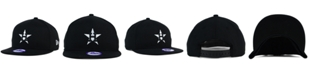 New Era Kids' Houston Astros Black White 9FIFTY Snapback Cap