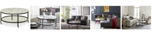 Furniture Stratus Round Coffee Table, Created for Macy's