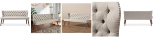 "Furniture Scarlett 63"" 3-Seater Sofa, Quick Ship"