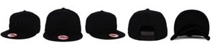 New Era Los Angeles Dodgers Triple Black 9FIFTY Snapback Cap