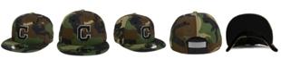 New Era Cleveland Indians Woodland Black/White 9FIFTY Snapback Cap