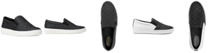 Michael Kors Keaton Slip-On Logo Sneakers