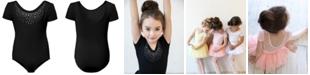 Flo Dancewear Embellished Diamante Leotard, Little Girls & Big Girls