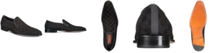 Mezlan Men's Checkerboard Suede Loafers, Created for Macy's