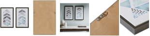 JLA Home Urban Habitat This and That Way 2-Pc. Framed Gel-Coated Canvas Print Set
