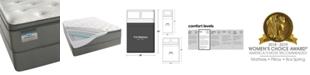"""Beautyrest BeautySleep 12.5"""" Keyes Peak Luxury Firm Pillow Top Mattress Set- Full"""