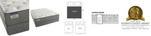 "Beautyrest BeautySleep 12"" White Pass Luxury Firm Mattress Set- King"