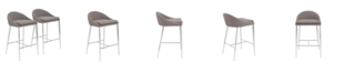 Euro Style Brielle Counter Stool (Set Of 2)