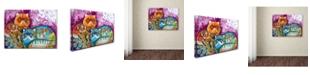 "Trademark Global Oxana Ziaka 'Pushkin Tales 3' Canvas Art - 19"" x 14"" x 2"""