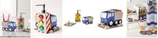 Dream Factory Trains and Trucks Bath Set
