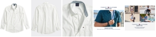 Tommy Hilfiger Men's Capote Shirt with Magnetic Buttons