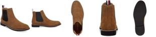 Tommy Hilfiger Men's Gainer Suede Chelsea Boots