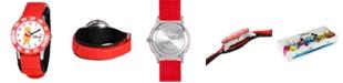 ewatchfactory Disney Pooh Boys' Stainless Steel Time Teacher Watch
