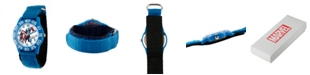 ewatchfactory Marvel Captain America Boys' Blue Plastic Time Teacher Watch