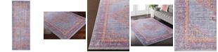 "Surya Germili GER-2308 Violet 2'11"" x 7'10"" Runner Area Rug"