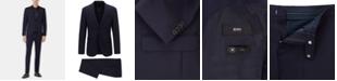 Hugo Boss BOSS Men's Slim Fit Micro-Patterned Virgin Wool Suit