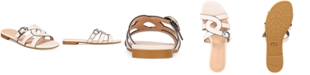 COACH Kennedy Flat Sandals, Created For Macy's