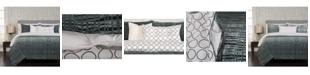 Siscovers Interweave Contemporary Reversible 6 Piece King Luxury Duvet Set