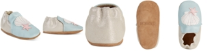 Robeez Baby Girls Shell & Sand Soft Sole Shoes