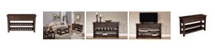 Martin Svensson Home Barn Door Collection Sofa Table, Espresso