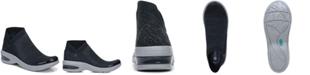 Bzees Romance Knit Ankle Boots