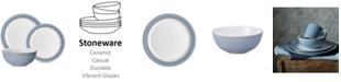 Denby Natural Denim 12-Pc. Dinnerware Set, Service for 4