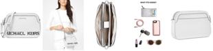 Michael Kors Logo Double Zip Crossbody