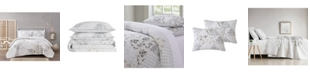 Brooklyn Loom Cottage Classics Kamala Floral Cotton Piece 3 Piece Full/Queen Quilt Set