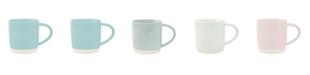 Canvas Home Shell Bisque Mug - Set of 4