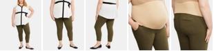 Motherhood Maternity Plus Size Skinny Ankle Pants