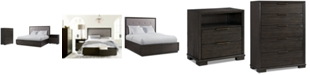 Furniture Morgan Storage Bedroom Furniture, 3-Pc. Set (California King Bed, Nightstand & Chest), Created for Macy's