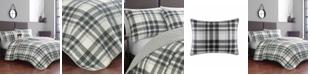 Eddie Bauer Coal Creek Plaid Comforter Set, Full/Queen