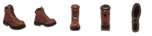 """AdTec Men's 6"""" Water Resistant Steel Toe Work Boot"""