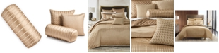 """Hotel Collection Deco Embroidery 8"""" X 20"""" Decorative Pillow, Created for Macy's"""