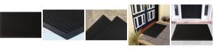 """Ottomanson Rubber Entrance Doormat, 18"""" x 30"""""""