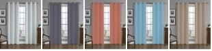 "Universal Home Fashions Crushed Microfiber Solid Window Panel, 40"" x 84"""