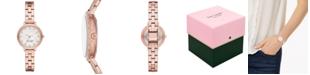 kate spade new york Women's Morningside Mini Rose Gold-Tone Stainless Steel Bracelet Watch 28mm