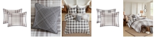 Madison Park Sheffield Full/Queen 4-Pc. Cotton Printed Reversible Comforter Set