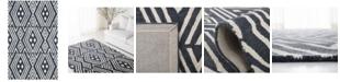 Lauren Ralph Lauren Imani Geometric LRL6609N Slate 9' X 12' Area Rug