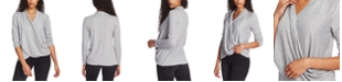 1.STATE Cross-Front Cozy Top