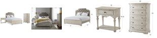 Furniture Closeout! Hadley Bedroom Furniture, 3-Pc. Set (King Bed, Nightstand, and Chest), Created for Macy's