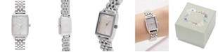 Olivia Burton Women's Bee Hive Stainless Steel Bracelet Watch 20mm