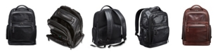 Mancini Buffalo Collection Laptop/ Tablet Backpack